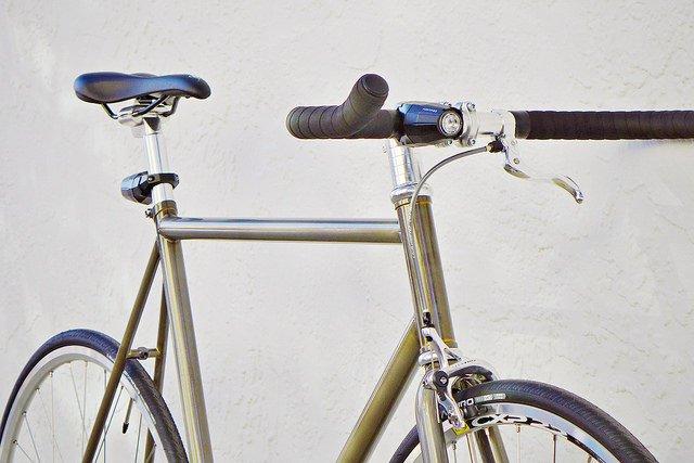 Fortified bike light mounted